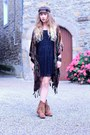 Brown-h-by-hudson-boots-black-molly-bracken-dress