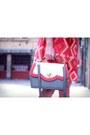 Red-mister-zimi-dress-heather-gray-compania-fantastica-bag