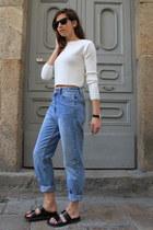 Zara jeans - Zara top