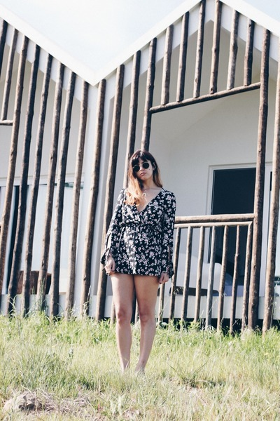 black Zara jumper