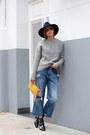 Black-bimba-lola-boots-sky-blue-zara-jeans-silver-zara-sweater