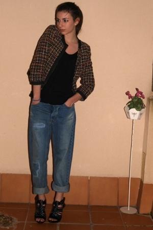 My boyfriend's jeans