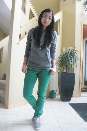 jeans - Bluenotes hoodie - Forever 21 sneakers