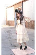 dress - sugarlids hat