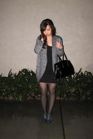 charcoal gray Jessica Simpson shoes - black random brand dress