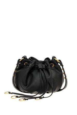 black asos bag
