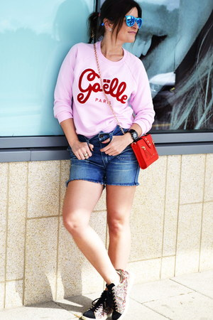 gaelle sweatshirt - Kenzo bag - ray-ban sunglasses - Isabel Marant sneakers