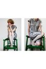 Gray-vintage-dress-beige-we-love-colors-socks