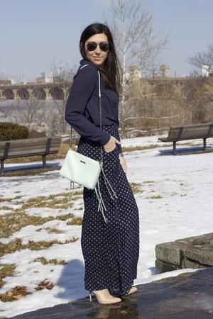 Loft shirt - Rebecca Minkoff bag - Betsey Johnson pumps - Target pants