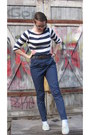 Light-blue-seppl-shoes-navy-h-m-shirt-brown-h-m-belt-navy-h-m-pants