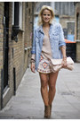 Blue-river-island-shirt-nude-miu-miu-bag-nude-zara-skirt-peach-zara-jumper