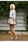 Bronze-metallic-topshop-skirt-neutral-miu-miu-bag