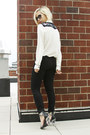 Ivory-shop-monsta-blouse-black-daul-floral-pm-x-jeffrey-campbell-shoes