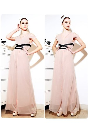 light pink pink jumpsuit jumper