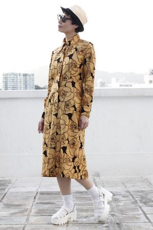mustard DRIVE STORE dress