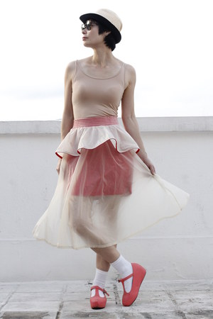 neutral DRIVE STORE skirt