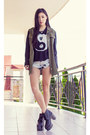 Olive-green-evil-twin-jacket-light-blue-denim-love-culture-shorts