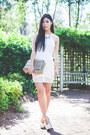 White-azelia-minty-meets-munt-dress-tan-gmarket-bag