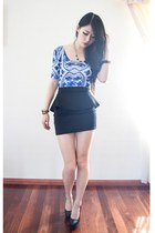 black Koogal skirt - navy Motel Rocks dress