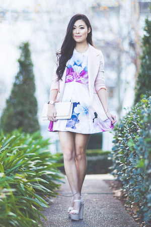 bubble gum Pop Cherry Fashion dress - light pink gmarket blazer