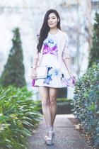bubble gum Pop Cherry Fashion dress - light pink gmarket blazer