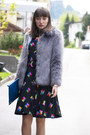 Black-vintage-louis-feraud-dress-blue-asos-boots-periwinkle-asos-jacket