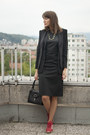 Black-french-connection-dress-black-zara-blazer-black-debenhams-bag