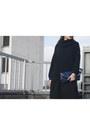 Black-asos-boots-navy-wallis-sweater-blue-ikea-bag-black-new-look-skirt