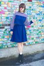 Navy-handmade-diy-dress