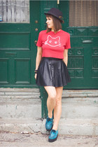 ruby red cotton DIY t-shirt
