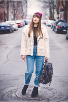 Hipster Winter Outfit: Vintage And Modern Together
