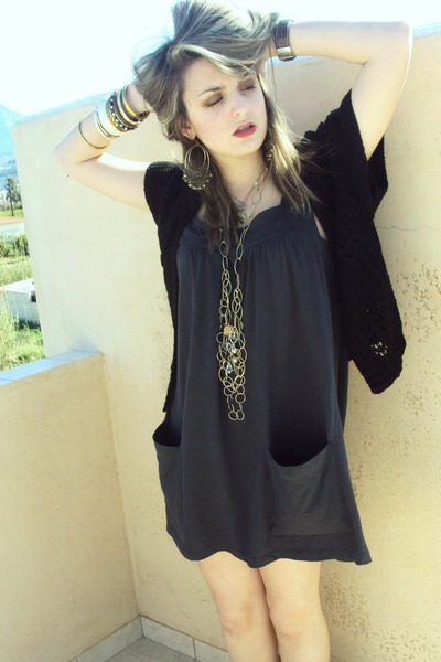 gray vintage salt dress