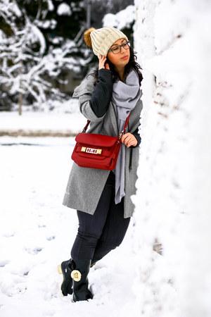 PROENZA SCHOULER bag - Zara coat - H&M scarf