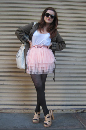 Heartloom jacket - Steve Madden shoes - from japan tights - f 21 top