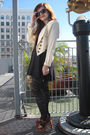Vintage-jacket-asos-dress-urban-outfitters-tights-vintage-platforms-shoes