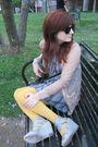Rodarte-for-target-cardigan-vintage-dress-asos-tights-vintage-dooney-bou