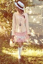 light pink floral Candies skirt