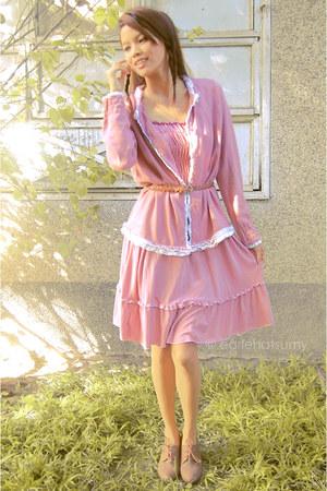 pink bworkshop cardigan