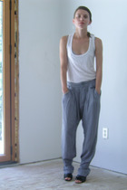 T Luxury Apparel top - Princesse tamtam bra - pull&bear pants - Maxstudio shoes
