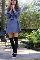 Urban Outfitters dress - Target stockings - GoJane shoes