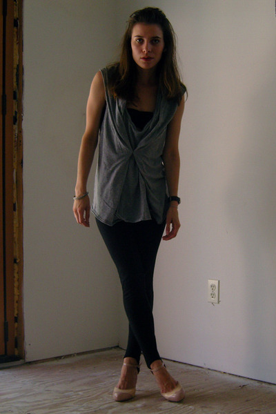 freepeople top - f21 leggings - GoJane shoes