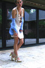 Blue-thrift-shirt-pink-h-m-top-white-seychelles-shoes-gold-anthropologie-n