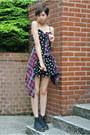 Black-doc-martens-boots-black-daisy-dress-h-m-dress