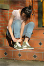 Olive-green-nike-shoes-light-blue-boyfriend-jeans-pacsun-jeans