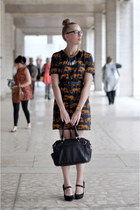 tawny Marc by Marc Jacobs dress - black Rebecca Minkoff bag