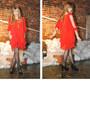 Red-asos-dress-black-via-spiga-heels