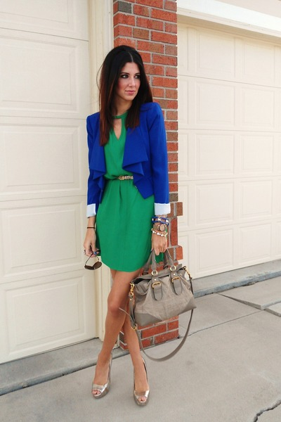 BCBG dress - BCBG blazer