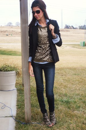 Jcrew top - BCBGeneration blazer