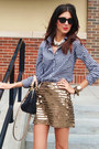 Jcrew-top-bcbg-skirt