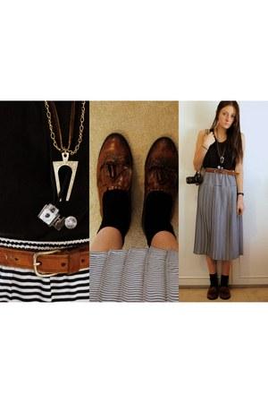 black Sportsgirl socks - black muui top